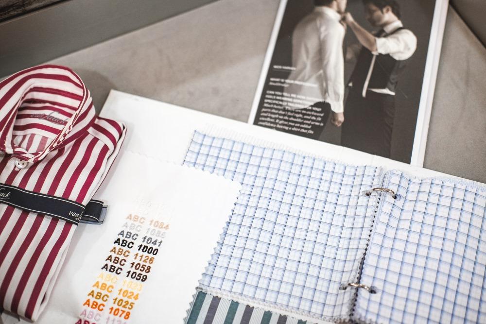 Индивидуальный пошив рубашек van Laack