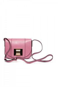 Сумка женская с клапаном розового цвета Gianni Chiarini