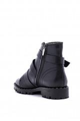 Ботинки женские с пряжками черные  The Seller 2