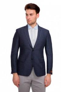 Темно-синий пиджак Cadini