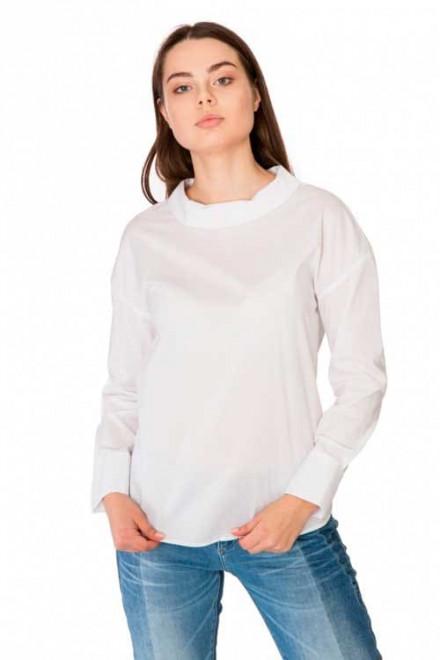 Блуза женская белая с длинным рукавом Rich & Royal