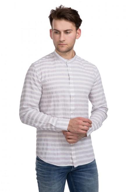Рубашка мужская белая в полоску Antony Morato