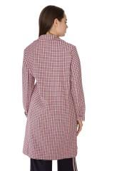 Пальто женское персиковое Rich & Royal 2