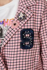 Пальто женское персиковое Rich & Royal 3