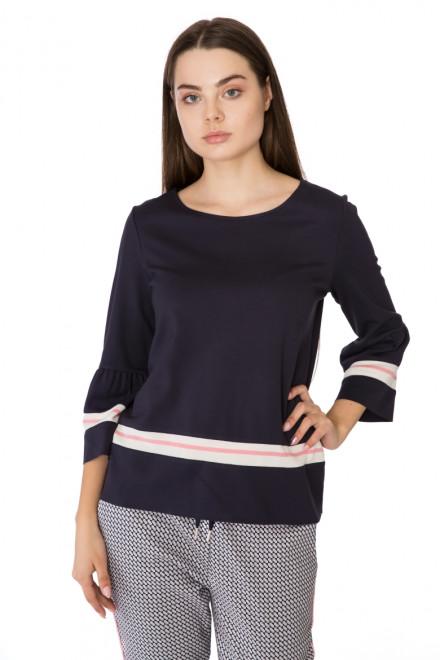 Пуловер женский свободный темно-синий Rich & Royal