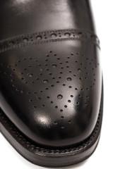 Туфли мужские (оксфорды) Wilfred черного цвета Joseph Cheaney & Sons