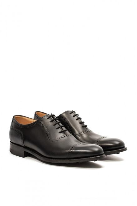Туфли мужские (оксфорды) Fedchurch черного цвета  Joseph Cheaney & Sons