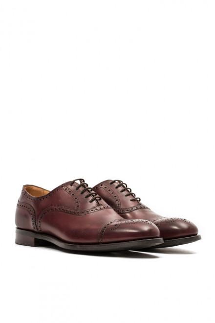 Туфли мужские (оксфорды) Dilford цвета красного дерева Joseph Cheaney&Sons
