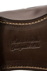 Мужские туфли (лоферы) Boston цвета бургунди Joseph Cheaney & Sons