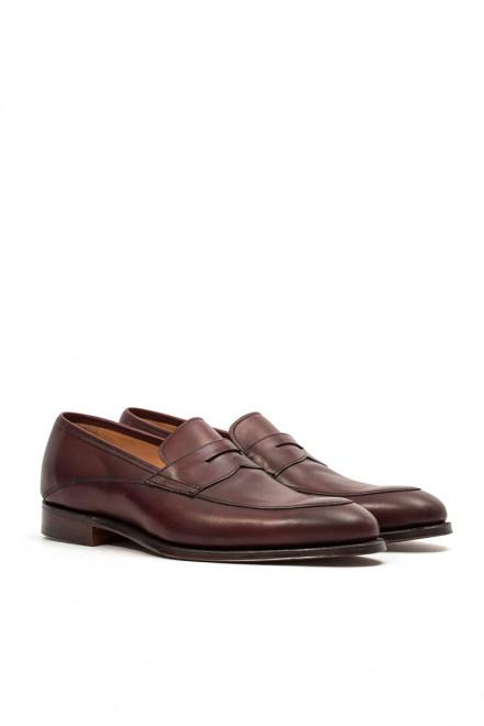 Туфли мужские (лоферы) Liewisham бордового цвета Joseph Cheaney & Sons