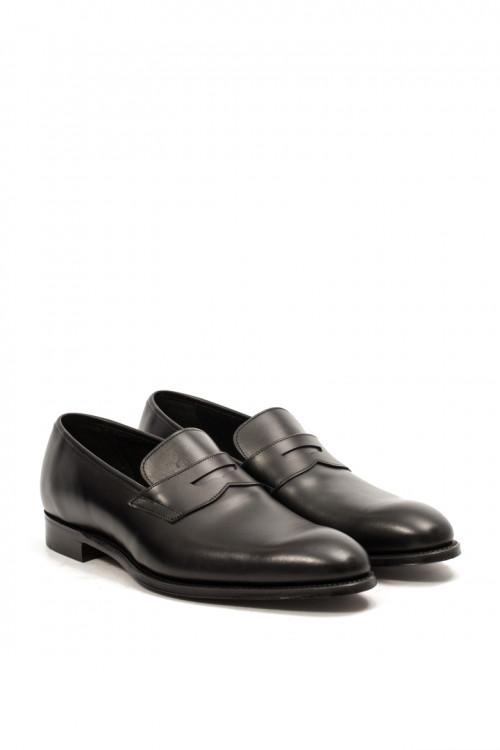 Туфли мужские (лоферы) Balham черного цвета Joseph Cheaney & Sons
