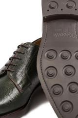 Туфли мужские (дерби) зеленого цвета Barker