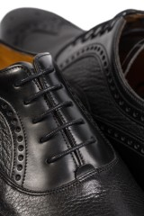 Туфли мужские (оксфорды) черного цвета Barker