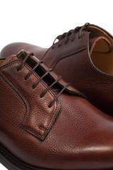 Мужские туфли (дерби) коричневого цвета Barker