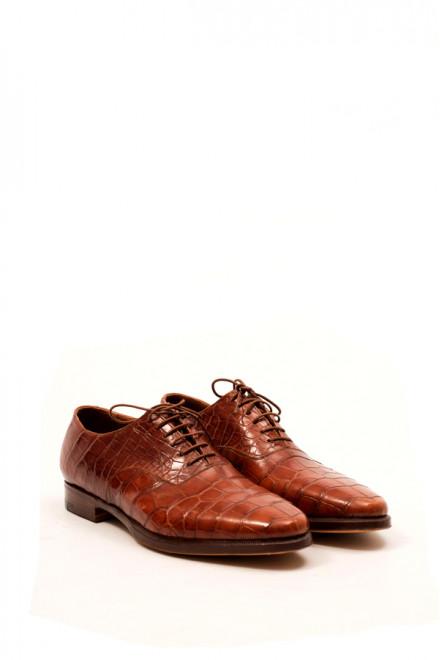 Оксфорды коричневые кожаные Gerardo Fossati
