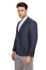 Темно-синий пиджак Cadini 1