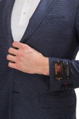 Темно-синий пиджак Cadini 4