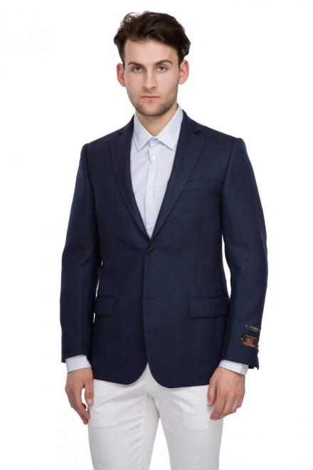 Пиджак мужской (блейзер) однобортный темно-синий Cadini