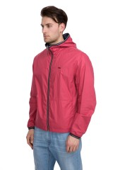 Куртка мужская двусторонняя с капюшоном и на молнии Harmont & Blaine
