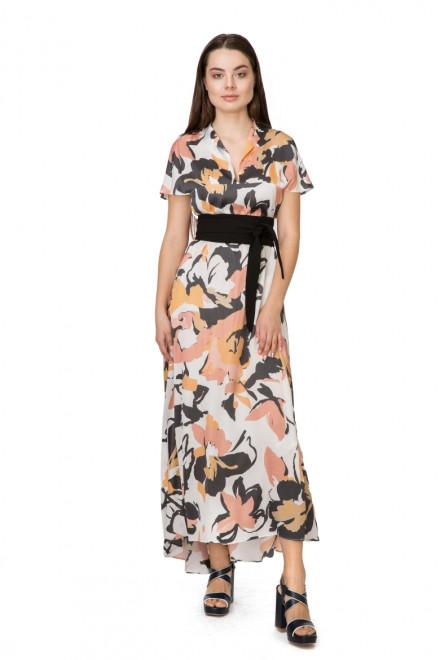 Платье женское длинное в цветочный принт Liviana Conti
