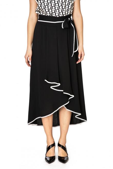 Юбка женская с длинным шлейфом черная Beatrice