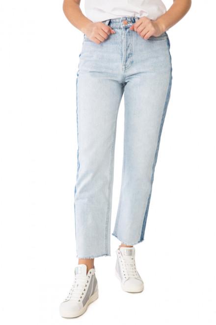 Джинсы (mom jeans) женские светло-голубые Miss Sixty
