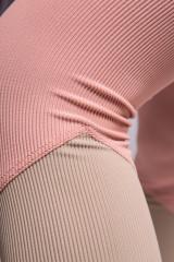 Леггинсы женские телесного цвета со вставками Onzie
