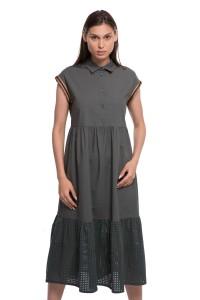 Платье темно-зеленое Le Coeur