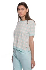 Пуловер женский с рисунком-шахматкой Riani 1