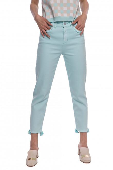Штаны джинсы женские светло-бирюзовые Riani