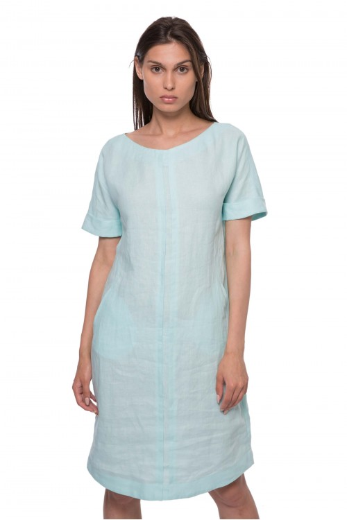 Платье светло-зеленое Riani