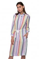 Платье-рубашка женское в полоску Riani 1