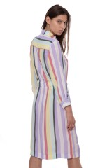Платье-рубашка женское в полоску Riani 2