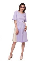 Платье фиолетовое со вставками Riani 4