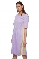 Платье фиолетовое со вставками Riani 1