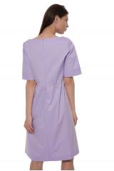 Платье фиолетовое со вставками Riani 2