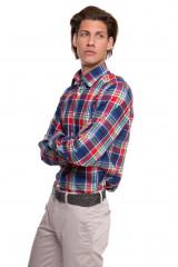 Рубашка мужская в клеточку van Laack 1