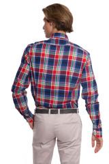 Рубашка мужская в клеточку van Laack 2