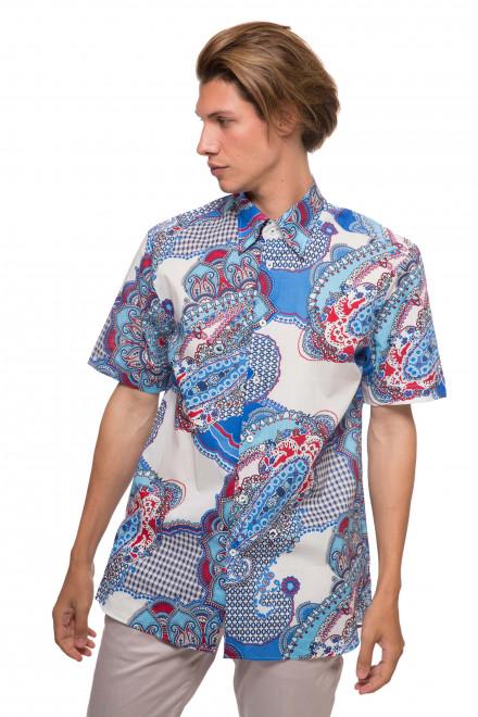 Рубашка мужская с орнаментом van Laack