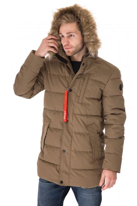 Куртка мужская коричневая Reset