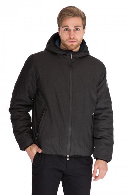 Куртка мужская спортивная с капюшоном и карманами Harmont & Blaine