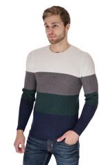 Пуловер мужской трехцветный Antony Morato 1