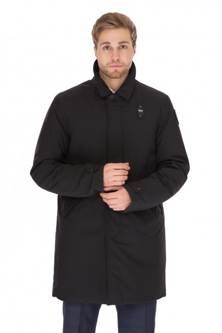 Куртка мужская зимняя удлиненная утепленная Blauer