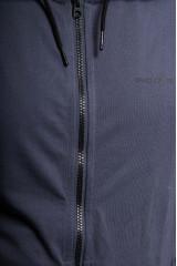 Кардиган мужской с капюшоном на молнии синего цвета Craghoppers