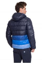 Куртка мужская стеганая утепленная с капюшоном на молнии North Sails