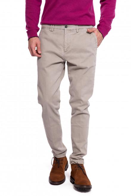 Штаны мужские светло-серые со стрелками Harmont & Blaine