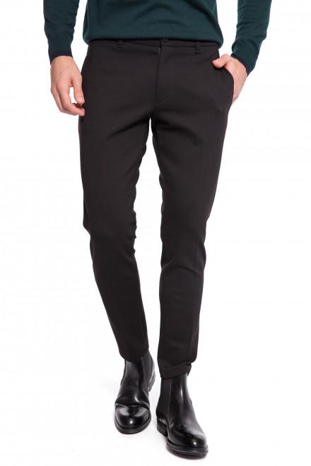 Штаны мужские черного цвета зауженные Drykorn