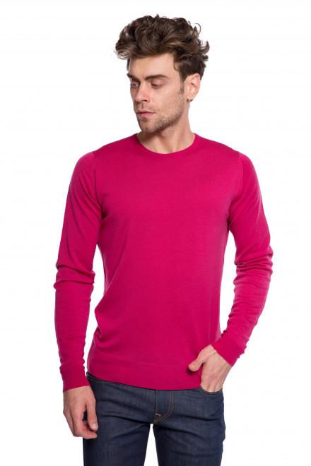 Пуловер ярко-малиновый John Smedley
