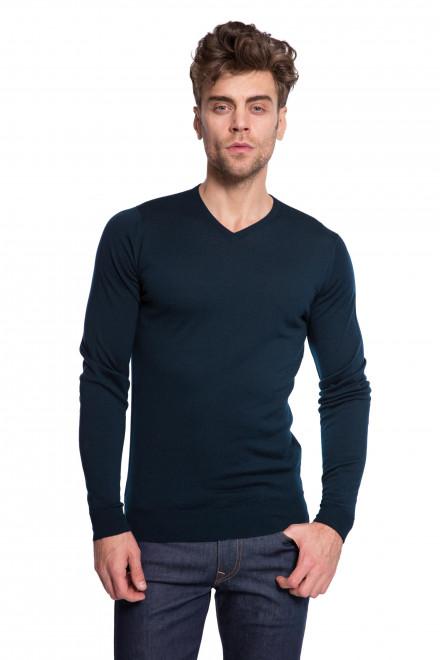 Пуловер темно-зеленый John Smedley