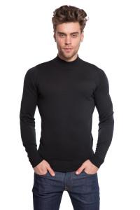 Пуловер чоловічий чорного кольору John Smedley